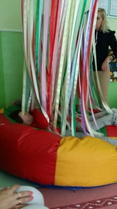 The ribbon fort!!